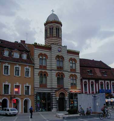 The town square in Brasov